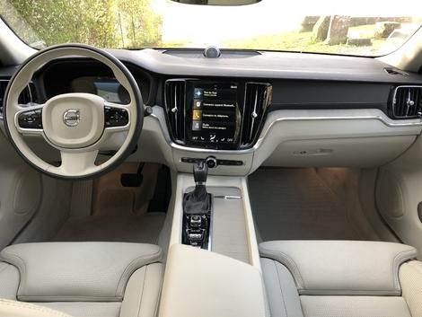 L'intérieur de la V60 est lumineux, zen et hautement qualitatif.