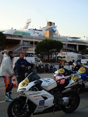 Dark Dog Tour 2008 : 4 octobre - L'étape Corse