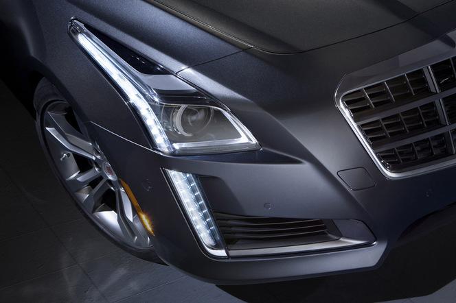 New York 2013 : la nouvelle Cadillac CTS se montre en avance