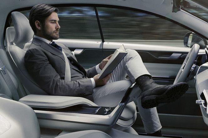 Volvo Concept 26 : l'habitacle pensé pour ne pas conduire