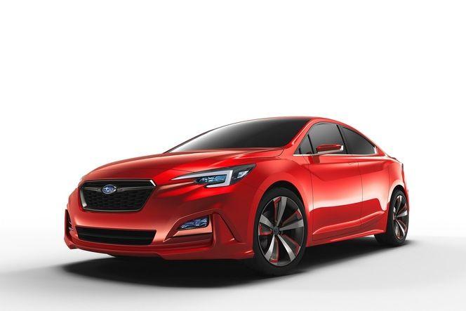 Salon de Los Angeles - Subaru Impreza Sedan Concept : moins agressive que les anciennes
