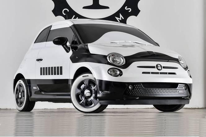 Salon de Los Angeles - Fiat 500e Stormtrooper : association d'icônes