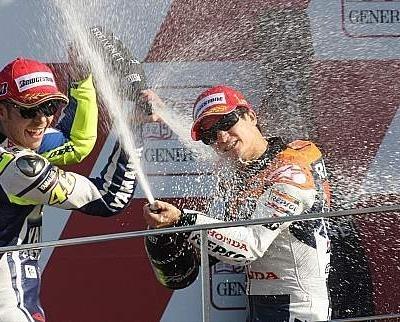 Moto GP - Valence: Pedrosa a atteint ses objectifs
