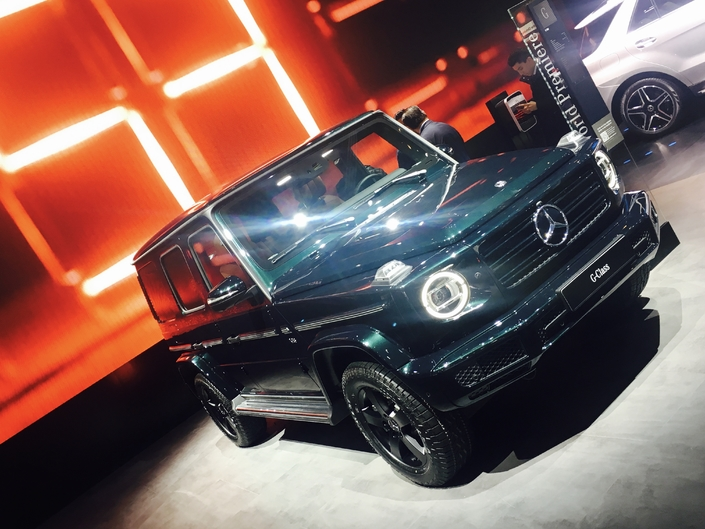 Le nouveau Mercedes Classe G.