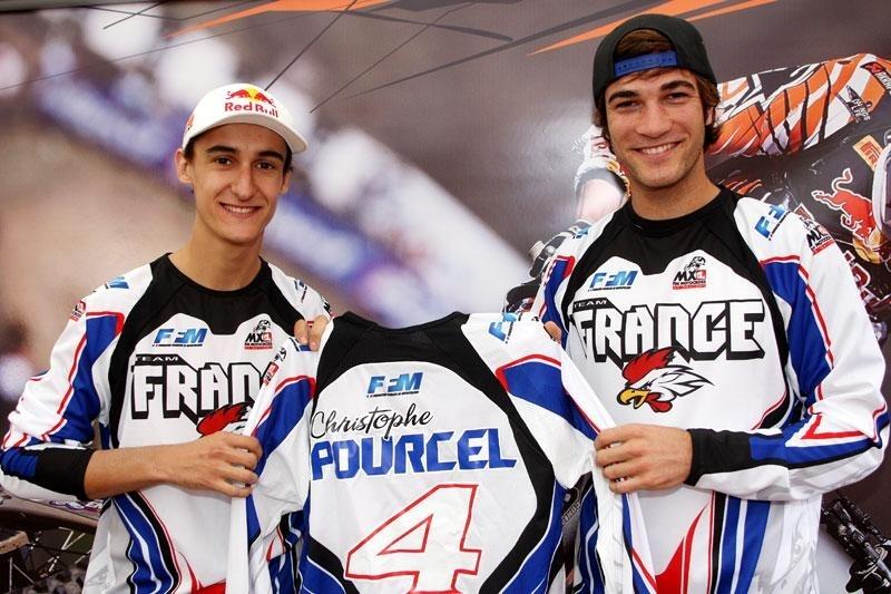 MX des Nations 2010 : le trio Musquin, Pourcel et Boog représentera la France