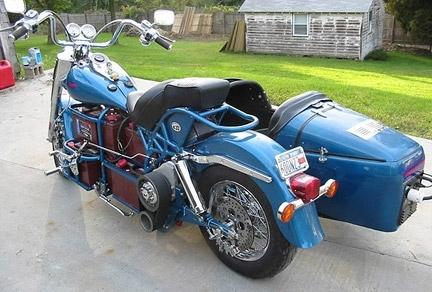 Insolite : une Harley électrique.