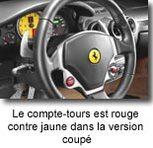 Corvette C6 Cabriolet/ Ferrari F430   Spider:  choc à plus de 300 km/h