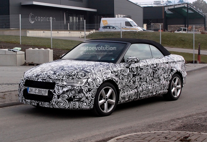 Surprise : l'Audi A3 Cabriolet sort avec le printemps