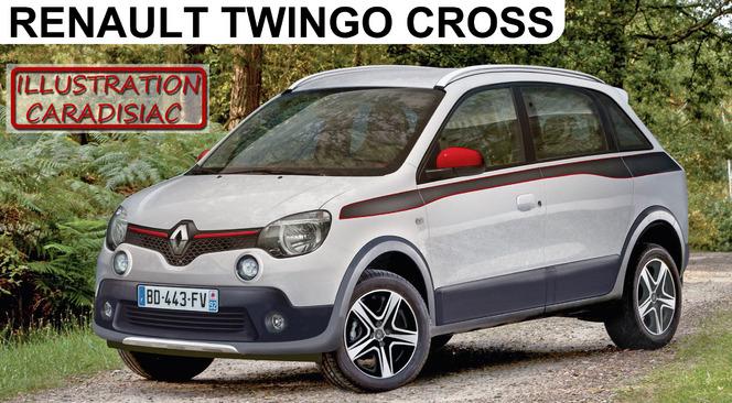 Si Renault créait un crossover Twingo...