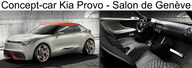 Un petit coupé pour Kia en 2014 !
