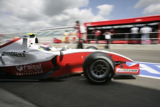 GP2 Grand Prix de Silverstone-Qualification : Senna devance Grosjean