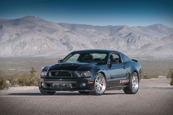 Salon de New York : la Shelby 1000 de 2013 fait... 1 200 ch