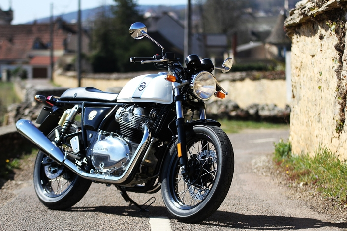Essai Royal Enfield Continental GT 650