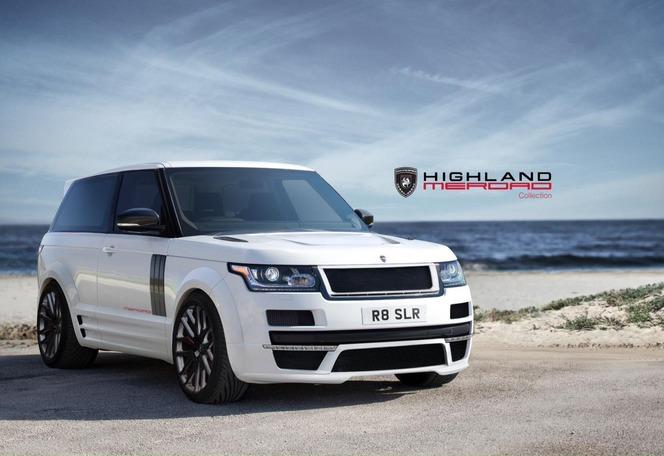 Merdad met les portes qu'il faut sur le Range Rover