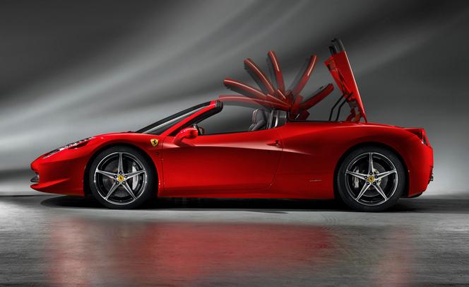 """Ferrari 458 Speciale: bientôt """"ouverte"""""""