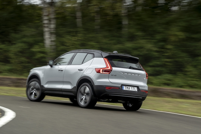 Commencez - Volvo XC40 Recharge P8 AWD (2021) - Charge rapide!