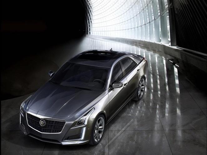 New York 2013 : la Cadillac CTS en intégralité