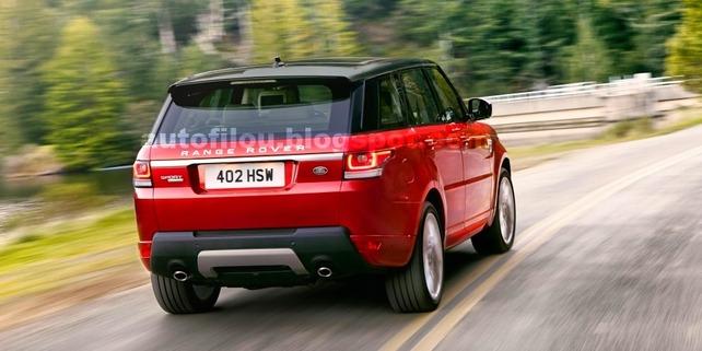 Le Range Rover Sport en fuite avant New York