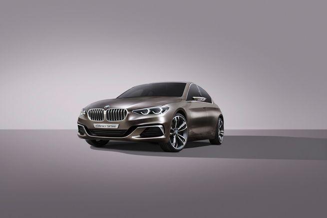 BMW Compact sedan concept : nouvelle déclinaison
