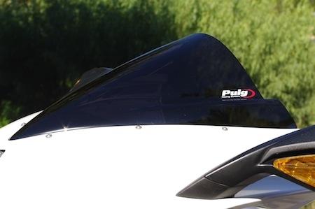 Essai bulle Puig Z-Racing pour MV Agusta F3: promesse tenue