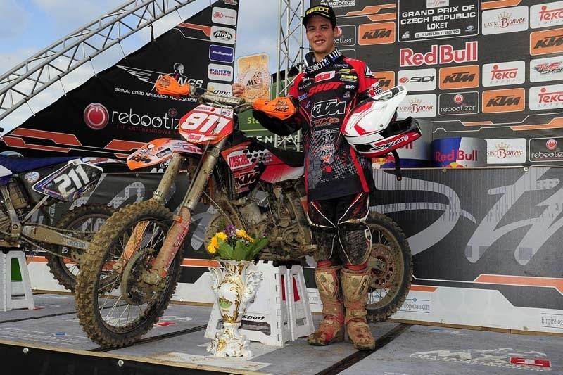 EMX 125 - Loket : Jordi Tixier champion d'Europe 125cc !