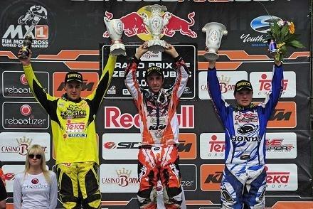 Motocross : GP de Loket, Antonio Cairoli verrouille le championnat en gagnant une nouvelle manche