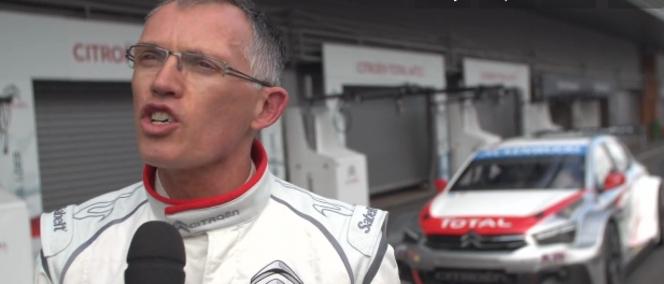 Carlos Tavares au volant de la Citroën C-Elysée de WTCC! (vidéo)