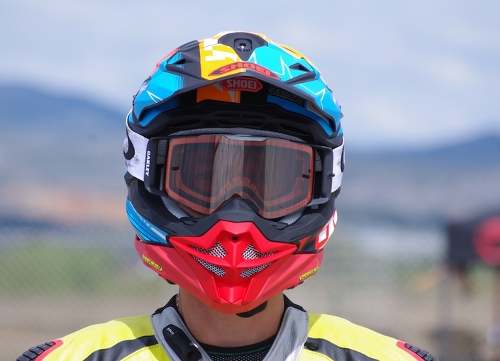 Shoei casque cross VFX-WR: l'essai
