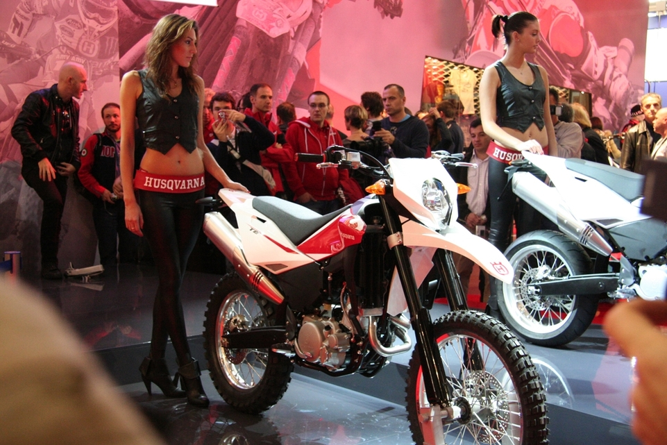 Salon de Milan 2009 en direct : Husqvarna SMS 630 ie et 630 TE