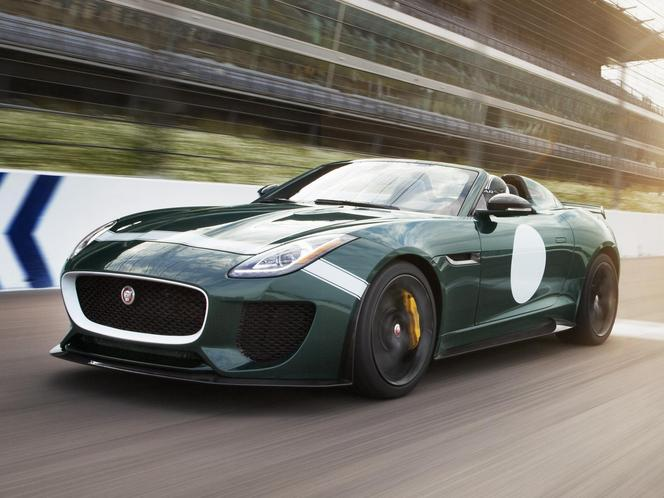 Goodwood : la surprise Jaguar est un roadster Project 7 de série