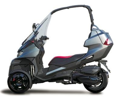 Nouveauté 2013 : Adiva lancera son scooter à trois roues AD3 à Milan