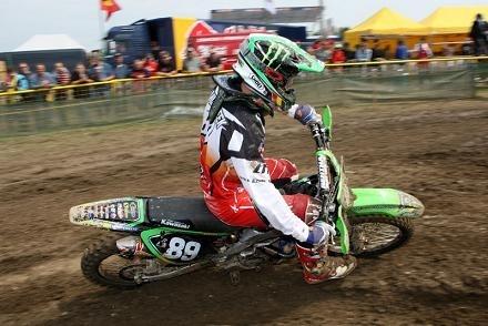 Motocross : GP de Loket, CLS Kawasaki, pas bon pour Frossard et bien pour Van Horebeek