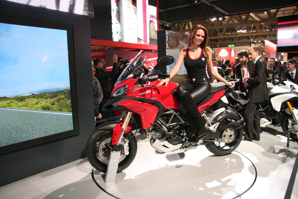 Salon de Milan 2009 en direct : Ducati 1200 Multistrada