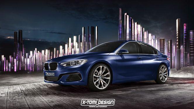 Design : un graphiste donne sa vision de la première berline traction BMW