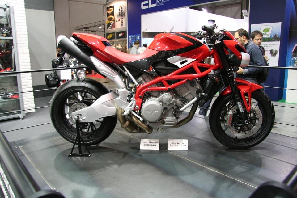 Salon de Milan 2009 : Moto Morini Granferro et ses grandes soeurs...