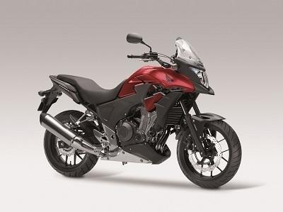 En direct du Salon de Milan - Honda: La CB500 est aussi classée X