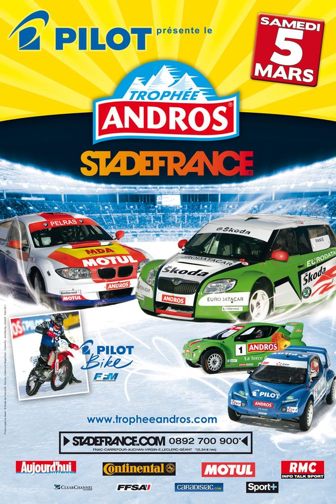 Demain 5 mars - Finale du Trophée Andros au Stade de France  :   1 place achetée = 1 place offerte avec Caradisiac