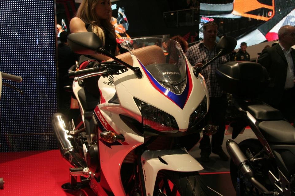 En direct du Salon de Milan - Honda: Une CBR500R qui n'est pas une chimère