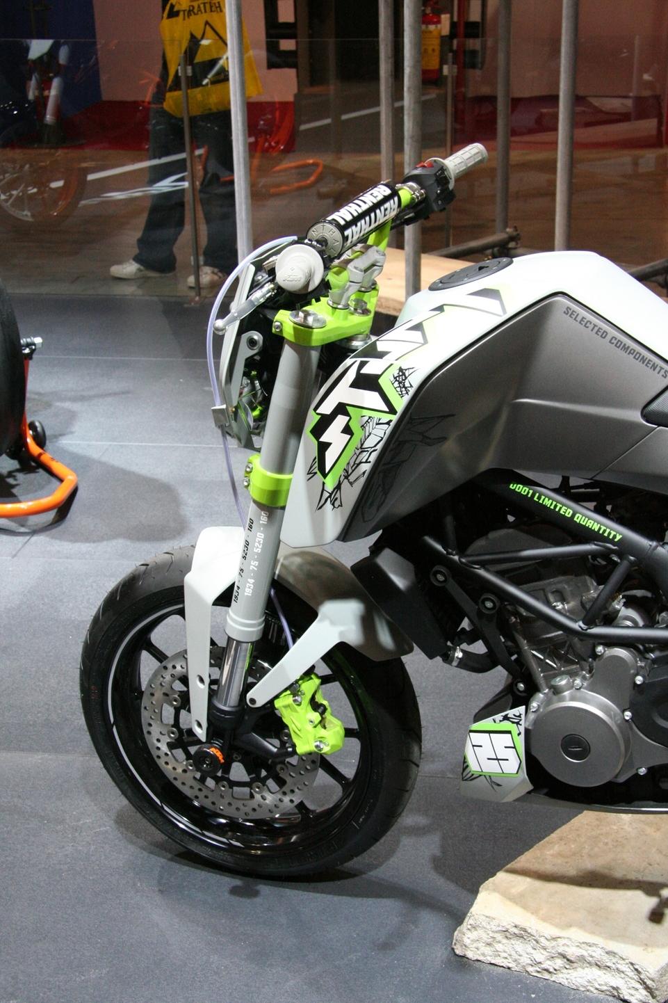 Salon de Milan 2009 en direct : Le KTM 125 Concept
