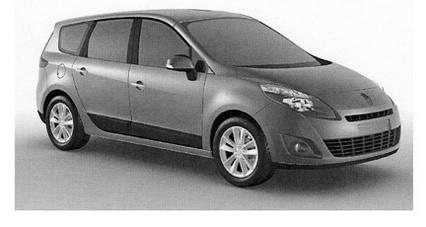 Nouvelle Renault Megane 3 : le Coupé, la 5 portes et le Scénic s'exposent