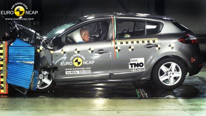 Euro-NCAP : dernière fournée de crashs, la Mégane obtient 3 étoiles quand d'autres font mieux... ou pas