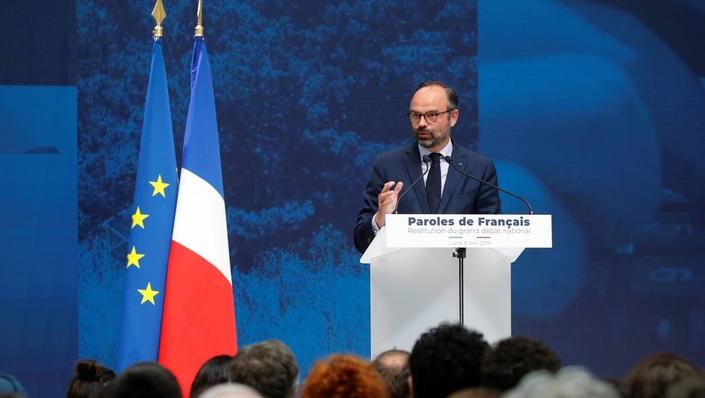 """Edouard Philippe au Grand Palais le 8 avril: """"nous devons baisser, et baisser plus vite, les impôts."""""""