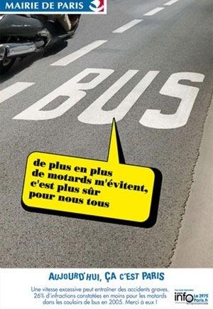 Manifestation contre la répression du stationnement non gênant