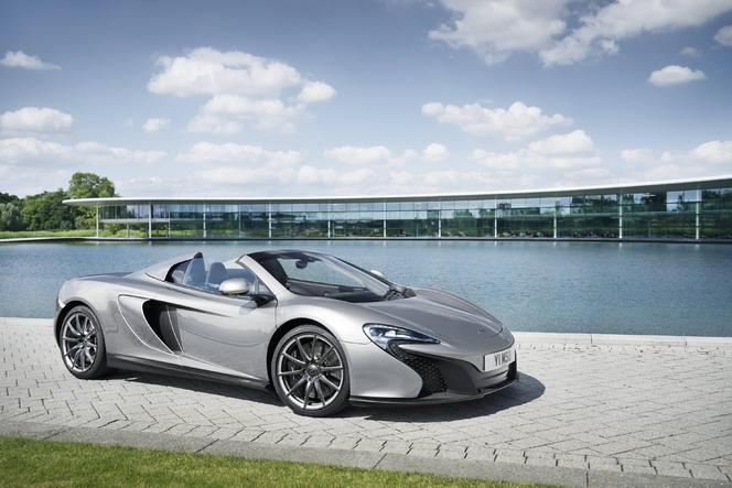 Goodwood 2014 : McLaren Special Operations présente une série limitée de la 650S Spider