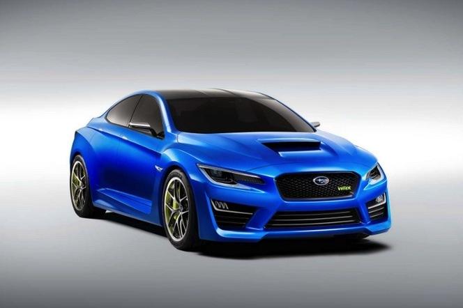 New York 2013 : est-ce la Subaru WRX Concept ?