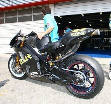 Moto GP: Voilà la GSVR 800