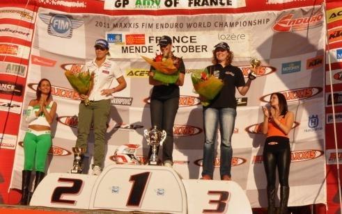 Enduro mondial : France, Ludivine Puy championne du monde
