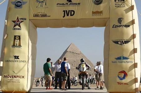 Rallye des Pharaons : Etape 1, déjà Marc Coma devant