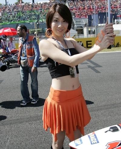 Les demoiselles du Paddock : GP du Japon.
