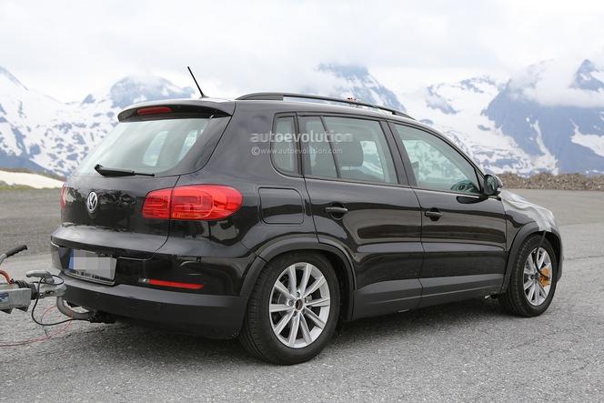 Surprise : le futur VW Tiguan ... ou autre chose